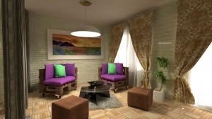 мебели от палети за дома