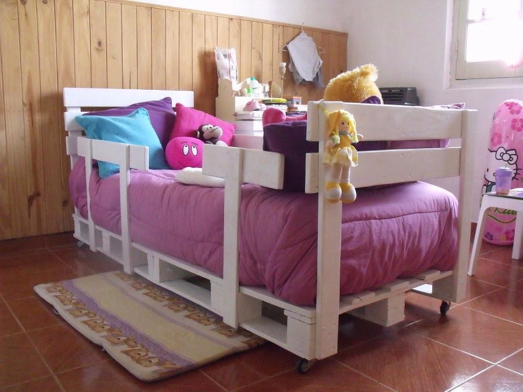 Детска стая от палети - детско креватче