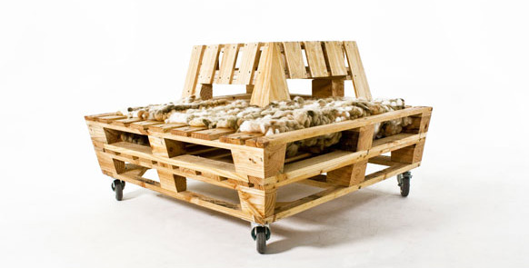 Фотьойл - Мебел от палета
