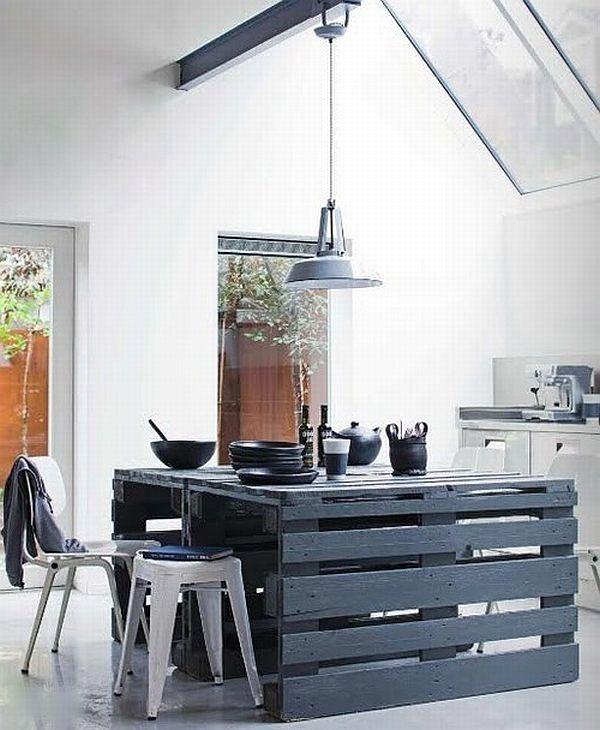Кухнунска маса от палети