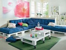 Мебели от палета за вашия дом