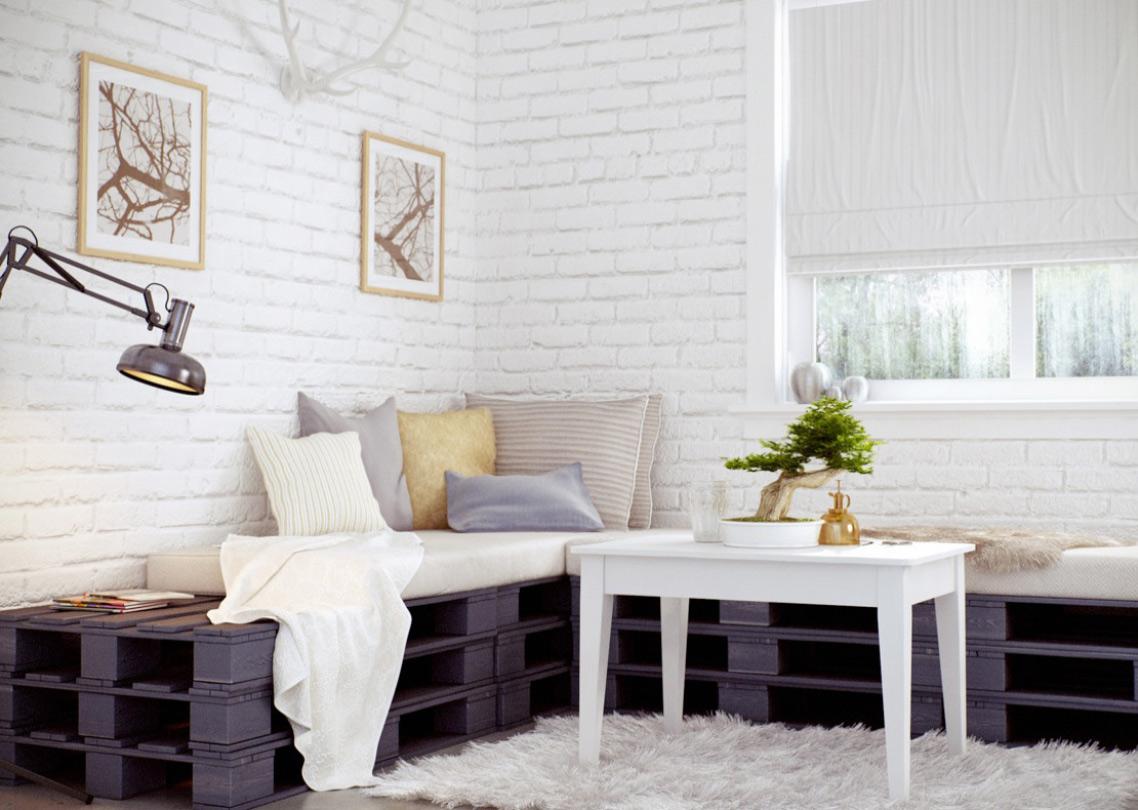 Мебели от палета за дома - диван