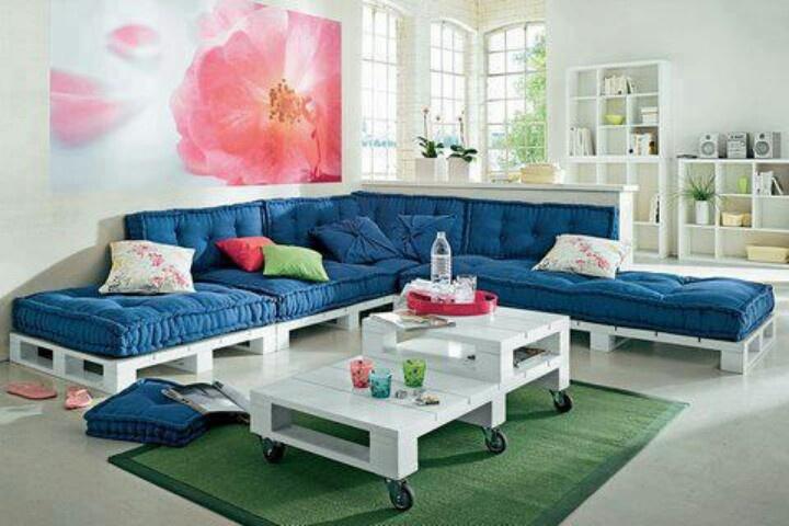 Изработка на мебели от палети за дома