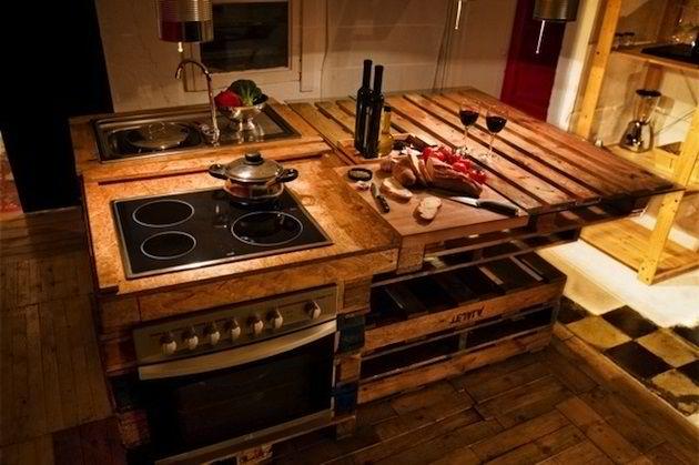 Кухненско обзавеждане от палети