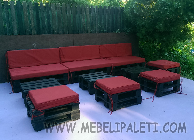 Мебел от палати за градина на заведение