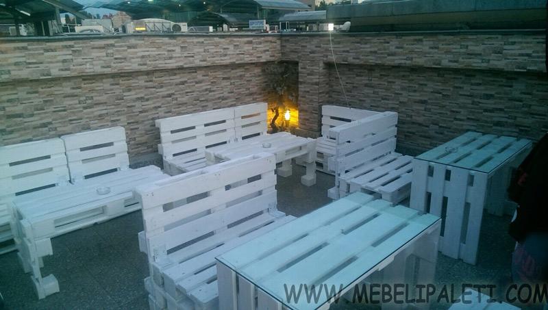 мебели от палета за заведение