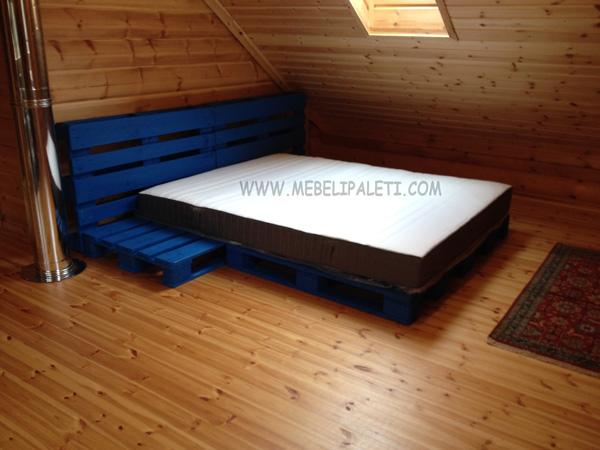 легло от палета за дома