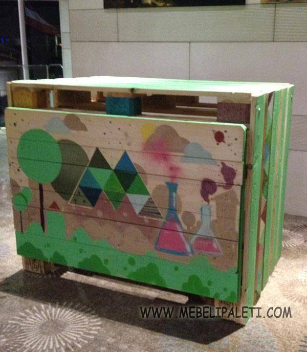 мебели от палети за музейко