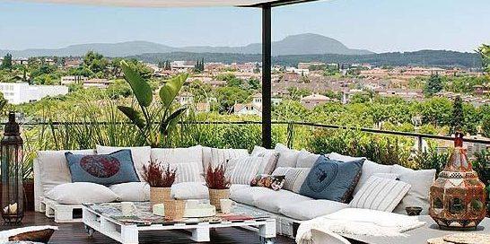 мебели от палети за градина-ресторант