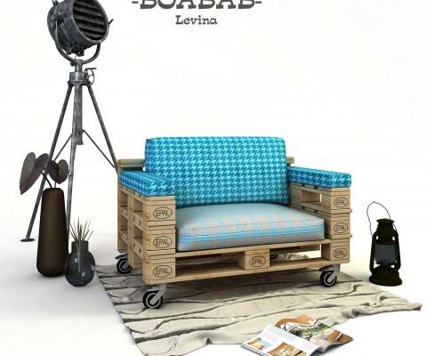 диван от палети за дома