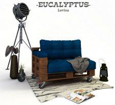 EUCALYPTUS-диван от палети