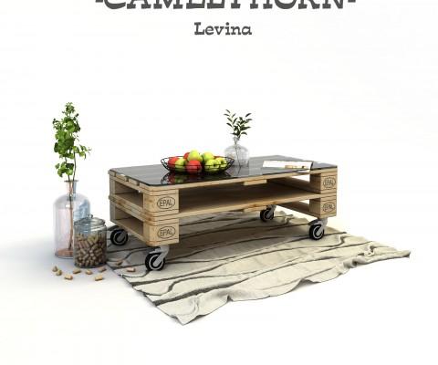 дървена маса от палети