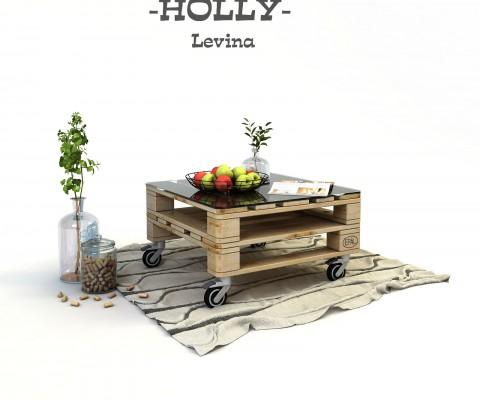 маса от палети с колела