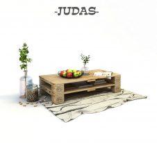 дървена маса от евро палети
