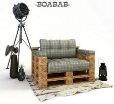 BOABAB-диван от палети