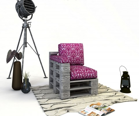 FLAMBOYANT-фотьойл от палети
