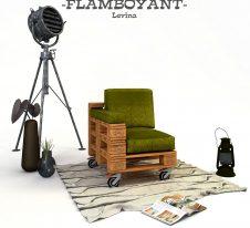 FLAMBOYANT-levina-фотьойл от палети