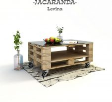 Jacaranda-маса от палети